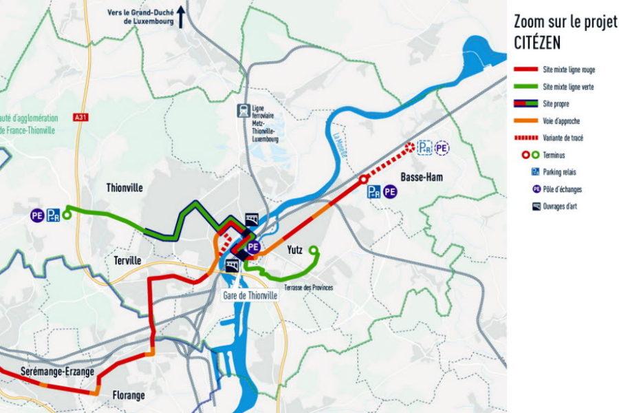 A Thionville, nous prenons le bus...à haut niveau de service !