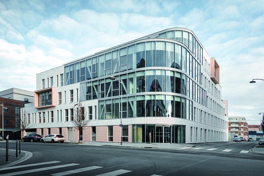 1ère tranche de 4300 m² de bureaux livrée !