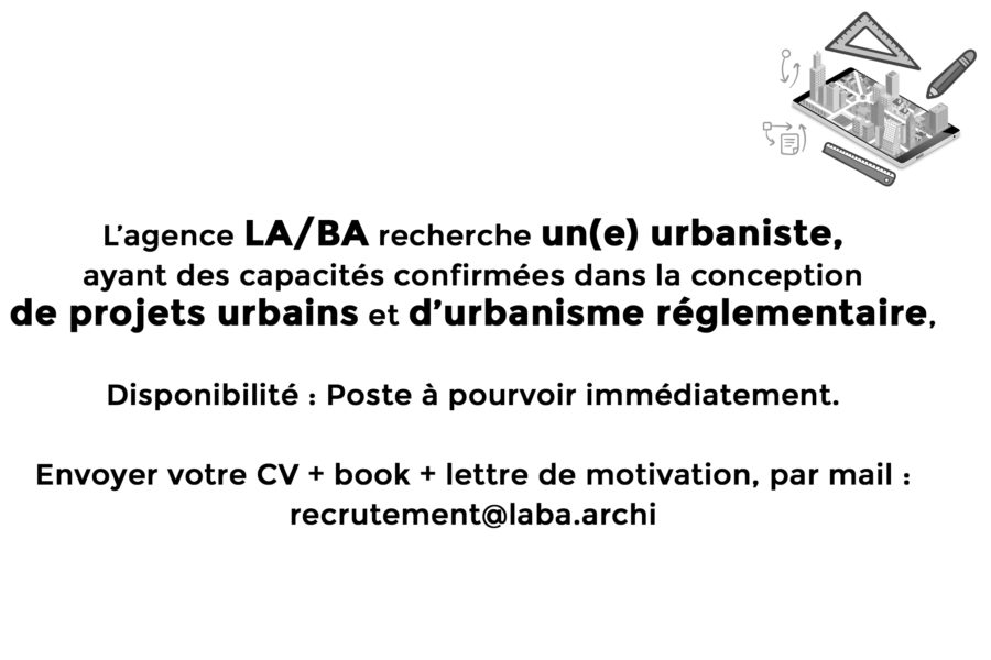 Rejoignez l'aventure LA/BA en envoyant vos références, CV, book, motivation...  A très vite!