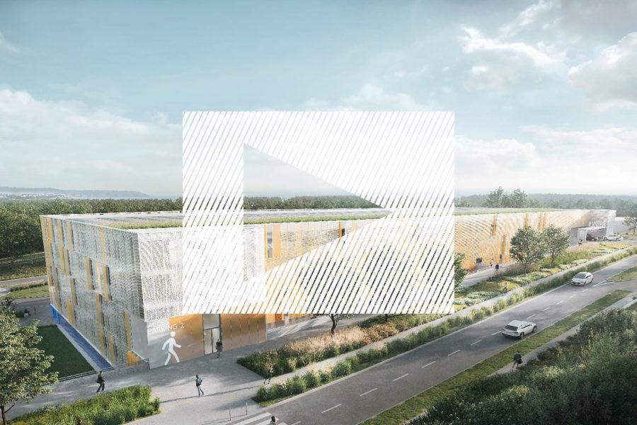 Découvrez l'animation 3D du futur parking de l'Hôpital de Brest